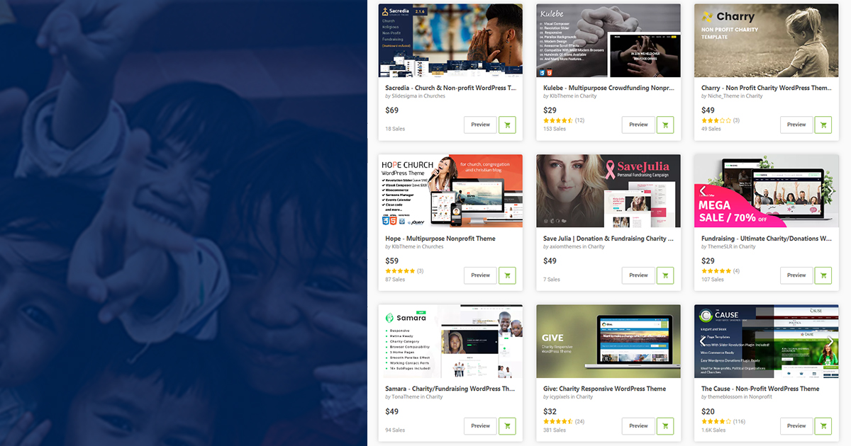 10 Best Wordpress Themes for Nonprofits